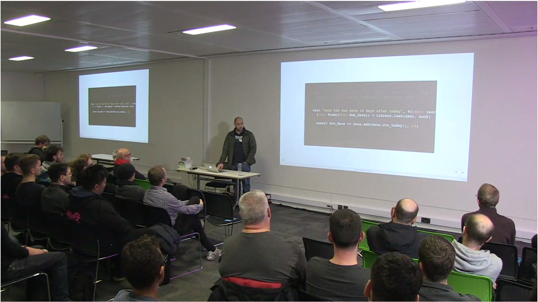 London Elixir Meetup talk